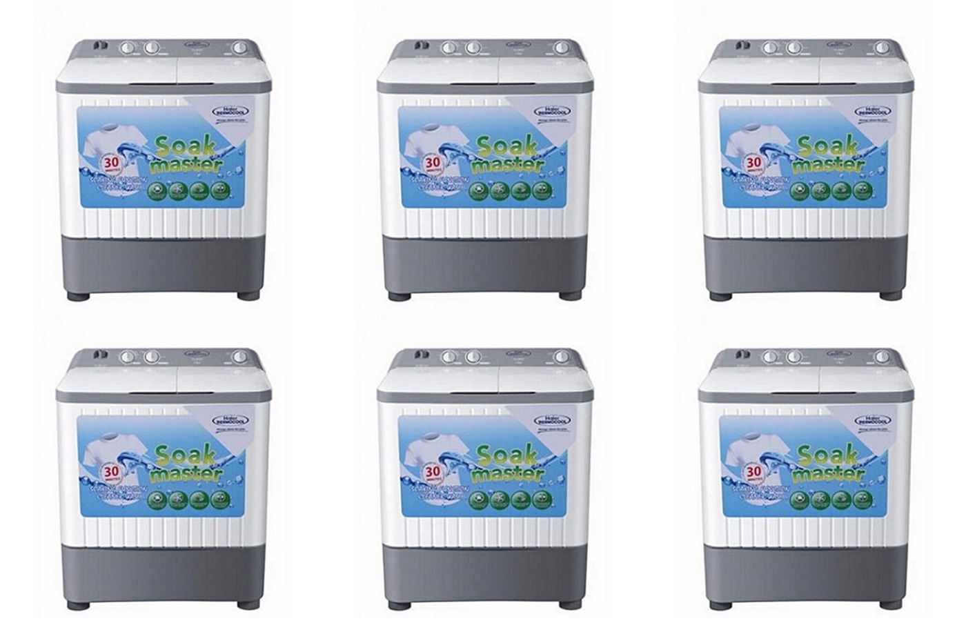 Haier Thermocool Top Load Semi-Automatic Washing Machine 13 kg